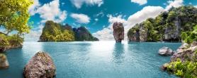 Scenery Thailand sea and island