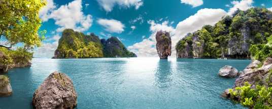 Scenery Thailand sea and island